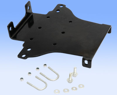 ATV mounting plate model