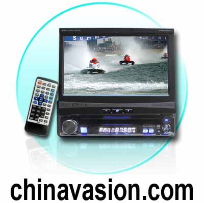 7-Inch Display Car DVD Player - Touchscreen + Bluetooth