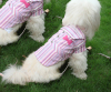 Pet Products-red&Blue Denim pet clothes