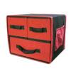 Black&red storage box