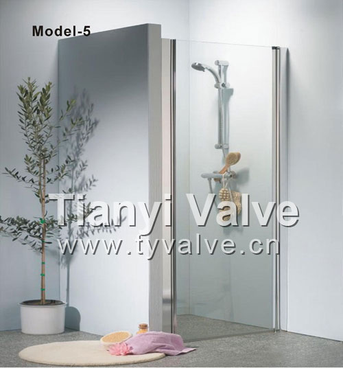 toughened glass Shower Room