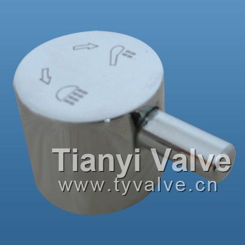 lavatory faucet handle