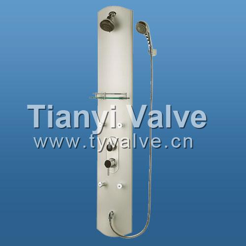 Aluminium rain shower faucet