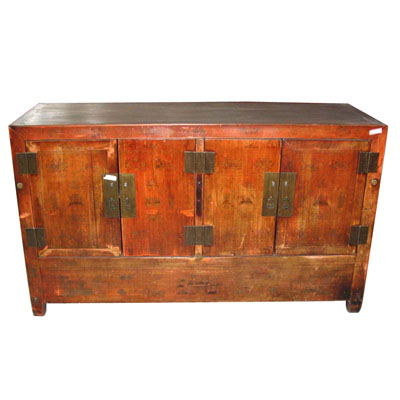 Antique Chest & Tv standing