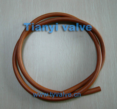 PVC knitted hose