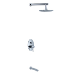 In-wall 2 Functions Shower Set
