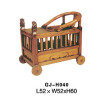 China antique baby cart