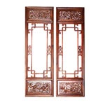 China antique wooden window