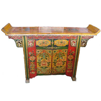 Antique Tibetan Furniture on Oriental Tibetan Cabinets  China Oriental Tibetan Cabinets  Tibetan