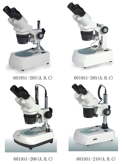 Implemental stereo microscope