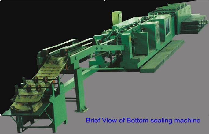 block bottom bag machine