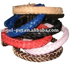 In texture dog collar