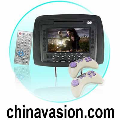 7 Inch Car Headrest DVD Player