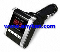 auto car mp3 player with fm transmitter modulator n215