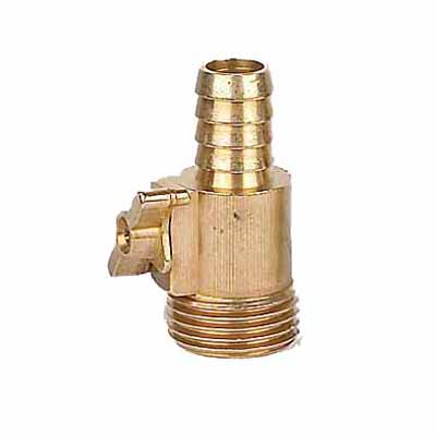 Hose Fitting With Valve