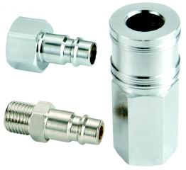 pneumatic click on fitting