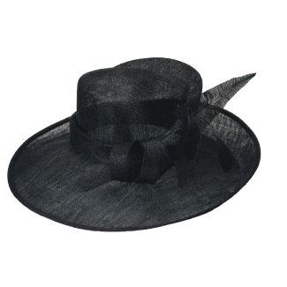 dancing sinamay hat