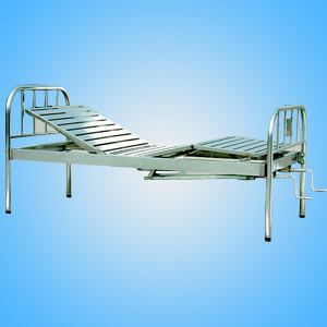 Stainless steel two shake bed