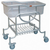 Stainless steel adjustable baby carriage