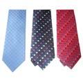 polyester silk tie