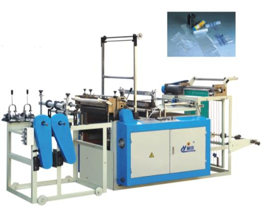 continuous-rolled bag making machine