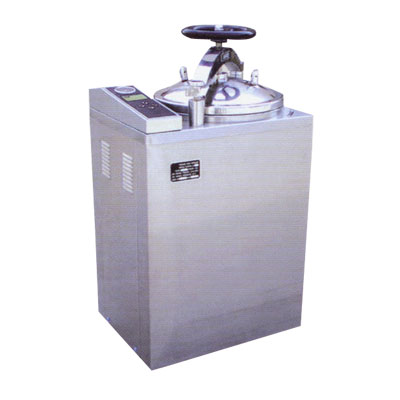 Vertical Cylindrical Pressure Steam Sterilizers