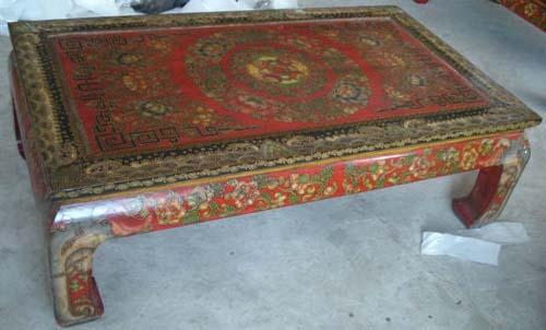 Chinese Antique Tibetan Coffee Table