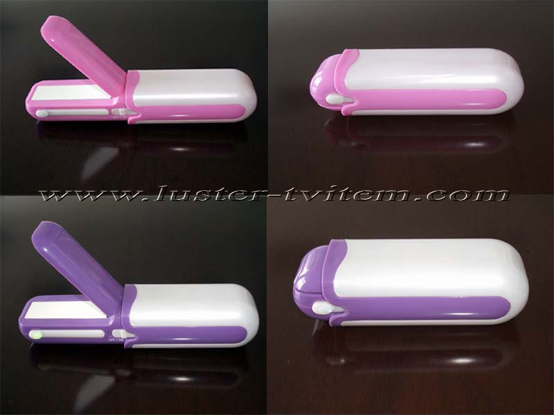 RECHARGEABLE TRAVEL HAIR STRAIGHTENER