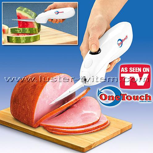 one touch cordless knife