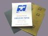 Kraft abrasive paper
