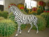 imitation zebra sculpture
