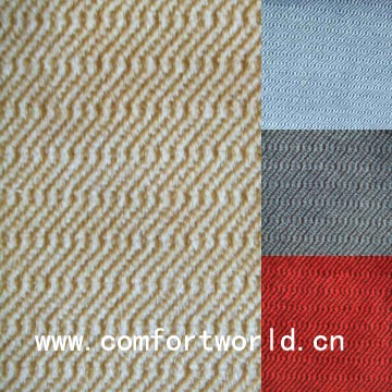 100% Polyester Car Seat Upholstery Fabric