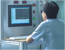Test desk for valve's performance
