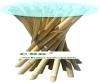 bamboo coffee table legs