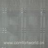 White Jacquard Curtain Fabric