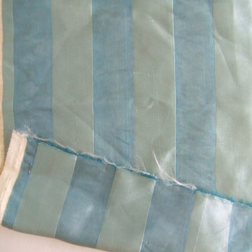 embroidered sheer voile curtain fabric