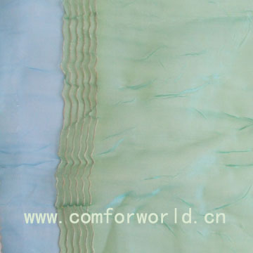voile embroidered curtain fabric