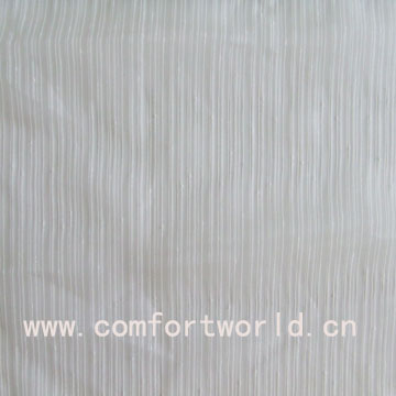 White Voile Curtain Fabric
