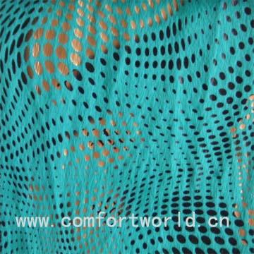 Bronzing Velour Fabric