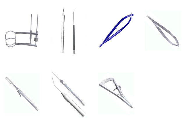 Ophthalmic Micro Surgical Instruments