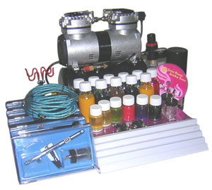 Airbrush Tattoo Kits(2)