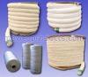 Ceramic Fiber Braided / Twisted Rope & Yarn