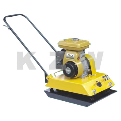 Plates compactor with gasoline