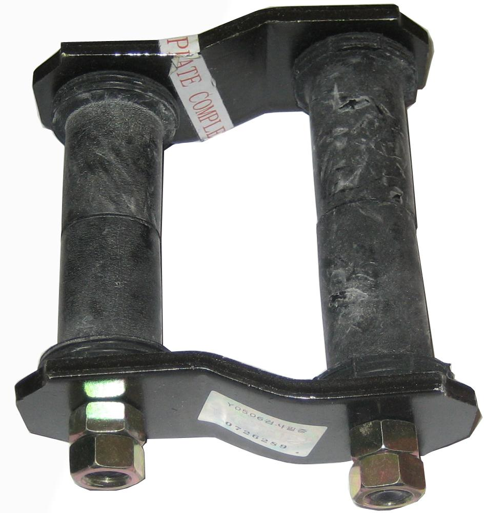 SHACKLE  PLATE  COMPLETE  ASSEMBLY