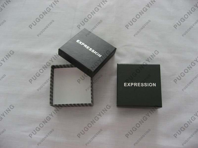 Small paper gift boxes with lids manufacturer from china for Small cardboard jewelry boxes with lids
