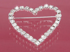 Heart shape pin