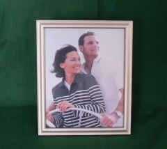 Wood Silver Photo Frame