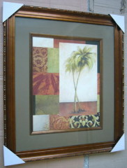 Coconut Tree Framed Art