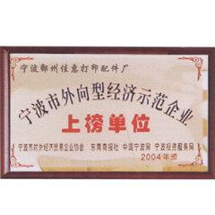 certificate export-oriente business model