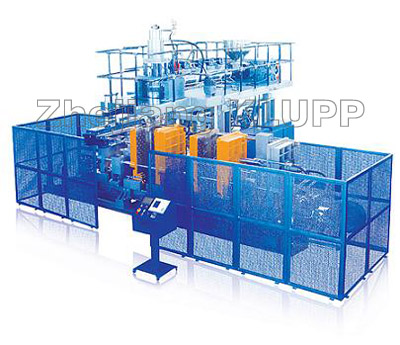 PP blow molding machine